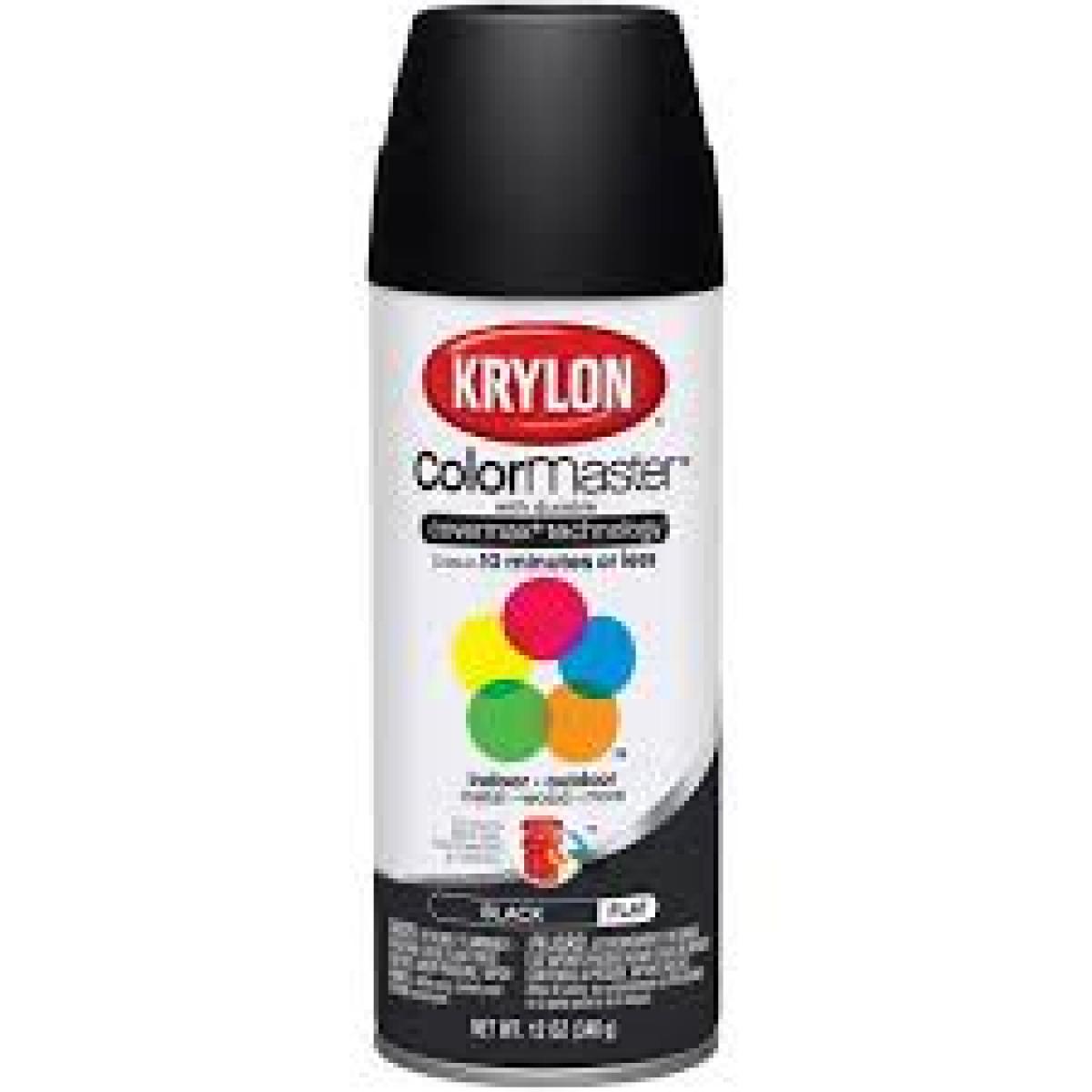 K1316 Krylon Black Spray Primer Spray Paint Paint And Sundries Amarillo Bolt