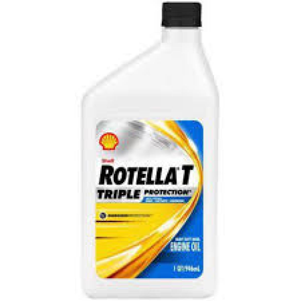 Shell Rotella T4 >> 550045140 - 15W-40 ROTELLA OIL QT - Amarillo Bolt