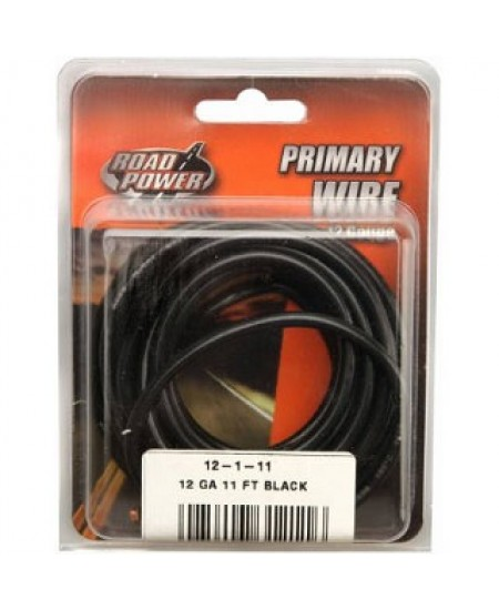 12-1-11 - PRIMARY WIRE BLACK 12 GA. 11 - PRIMARY WIRE - ELECTRICAL ...