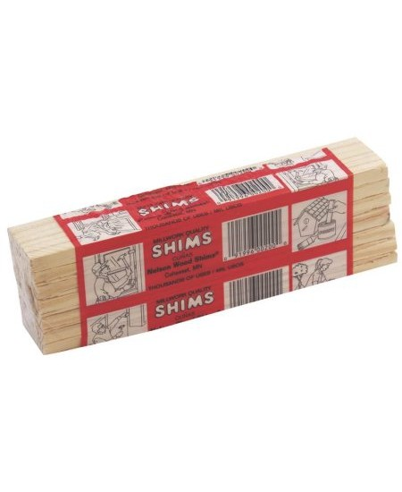 140P - NELSON WOOD SHIMS 12 PER PACK