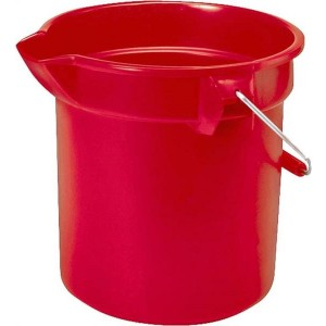 296300 - 10 QUART BUCKET RUBBERMAID