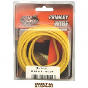 12-1-14 - PRIMARY WIRE YELLOW 12 GA. X