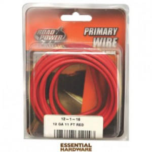 12-1-16 - PRIMARY WIRE RED 12 GA. X 11