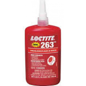 1330585 - LOCKTITE 263 RED THREADLOCKER