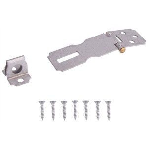 "1466382 - 2-1/2"" FIXED STAPLE HASP"