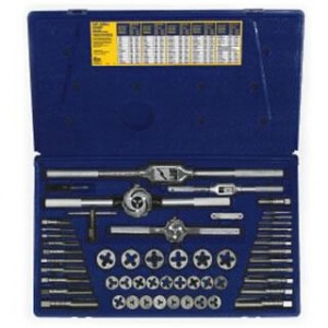 AT24640 - 53PC TAP & DIE SET FRACTIONAL