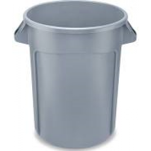 2632 - RUBBERMAID 32 GAL TRASH CAN
