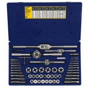 AT26394 - 53 PC TAP & DIE SET - METRIC