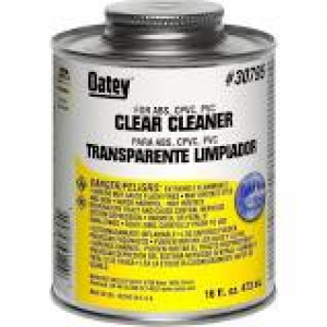 30779 - CPVC PVC ABS CLEANER 4 OZ.