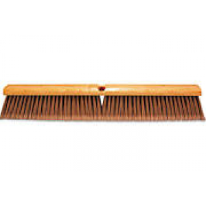 "3724 - 24"" FLOOR BRUSH SILVER"