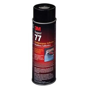 3M77 - 3M SUPER 77 SPRAY ADHESIVE