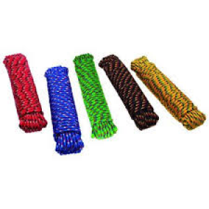 99022 - 3/8X100' COLORED POLY BRAIDED