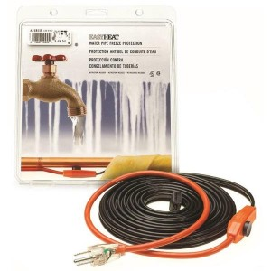 AHB013 - 3 FT HEAT CABLE W/THERMOSTAT