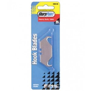 CHB-96 - HOOK BLADE CARDED 5 PER PK