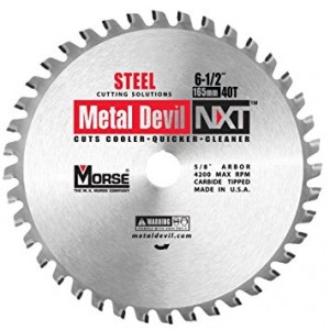 "CSM65040NSC - 6-1/2"" 40 TOOTH METAL DEVIL"