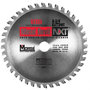 "CSM67540NSC - 6-3/4"" 40 TOOTH METAL DEVIL"