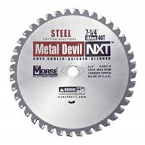 "CSM72540NSC - 7-1/4"" X 40 TOOTH METAL DEVIL"