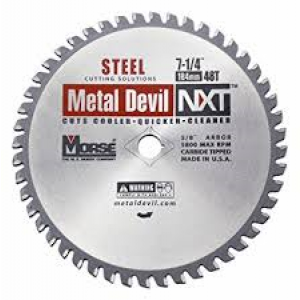 "CSM72548NSC - 7-1/4"" X 48 TOOTH METAL DEVIL"