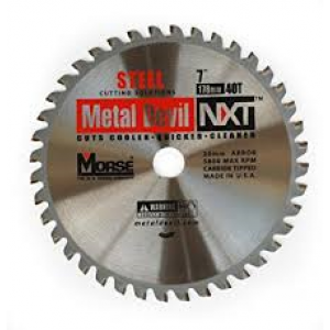 "CSM740NSC - 7"" X 40 TOOTH METAL DEVIL"