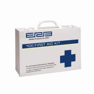FAB100M - 100 PERSON FIRST AID KIT METAL