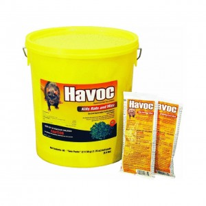 116372 - HAVOC MOUSE/RAT POISON 40 TWIN