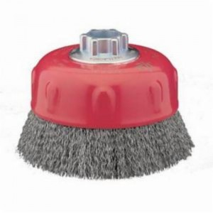 69936653347 - CRIMPED WIRE CUP BRUSH CARBON
