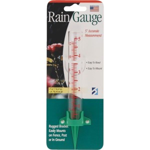 "19937 - RAIN GAUGE 5"" EZ READ"