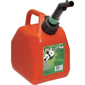 00002 - 2.5 GAL EPA PLASTIC GAS CAN