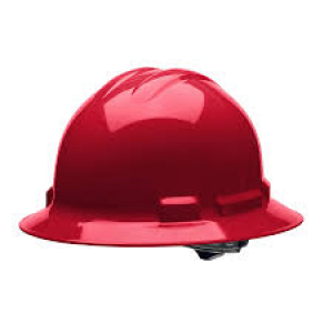 A49R-R - RED FULL BRIM HARD HAT
