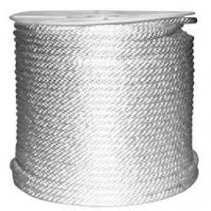 SBN1/4X500 - 1/4 X 500 FT SOLID BRAID NYLON