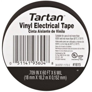 3M49656 - 3M TARTAN VINYL ELECTRIC TAPE