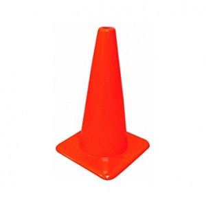 "TC12 - 12"" TRAFFIC SAFETY CONE"
