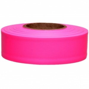 AT65603 - FLUORESCENT PINK FLAGGING TAPE