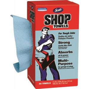 75090 - SHOP TOWELS 85 COUNT