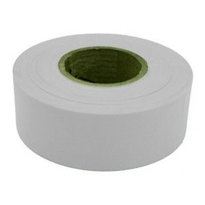 AT65904 - WHITE FLAGGING TAPE 300'