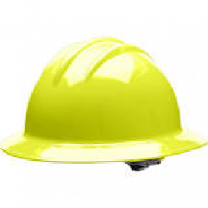 A49R-Y - YELLOW FULL BRIM RATCHET HARD