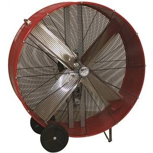 "BF48BD - 48"" BARREL FAN 1/2 HP"
