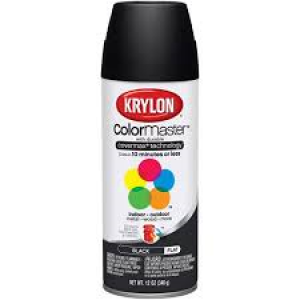 K1316 - KRYLON BLACK SPRAY PRIMER