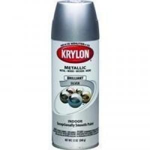 K1401 - KRYLON 281-0257 BRIGHT SILVER