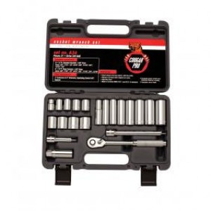 "CA34 - 21 PC 3/8"" DR. SAE SOCKET SET"