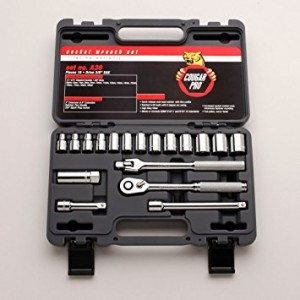 CA36 - 18 PC 3/8DR  METRIC SOCKET SET
