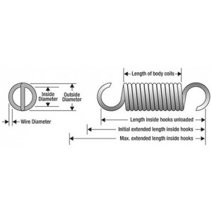 C-13 - EXTENSION SPRING