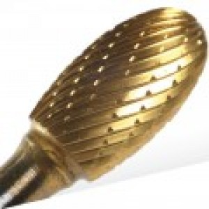 "SE5 - 1/2"" CARBIDE BUR OVAL SHAPE,"