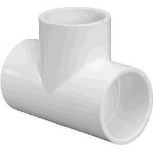 401005 - PVC 1/2 TEE S X S X S