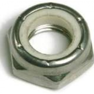 00260-1000-401 - 10-24 THIN NYLON LOCKNUT