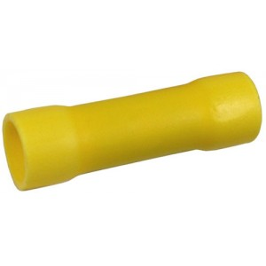 B4C - YELLOW BUTT CONNECTOR 12-10AWG
