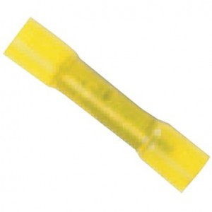 B8CHS - 12-10 YELLOW HEAT SHRINK BUTT